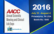 Block Scientific to Attend AACC Annual Scientific Meeting & Clinical Lab Expo 2016