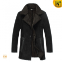 Christmas Fur Lined Trench Coat CW819459 - CWMALLS.COM