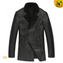 Double Breasted Christmas Trench Coat CW833252 - CWMALLS.COM