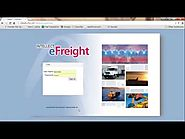 Intellect eFreight Introduction