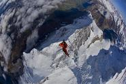 Wingsuit Fly off the Eiger