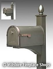 Coronado Mailbox | Decorative Post | Wilshire Fireplace Shop
