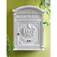 Cast Aluminum Mailbox from Wilshire Fireplace Shop