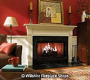 36 in Clean Face Wood Burning Fireplace
