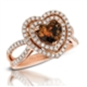 Le Vian Couture Chocolate Diamond® Heart Ring