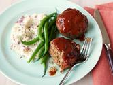 Meatloaf Muffins with Barbecue Sauce Recipe