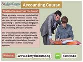 Accounting Courses in Singapore for a Great Accounting Career