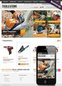 Tool Store OpenCart website template
