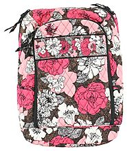 Vera Bradley Laptop Backpack in Mocha Rouge