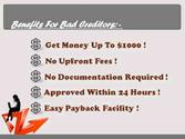 Loans for People on Bad Credit- Arrange Easy Cash in Bad Credit State