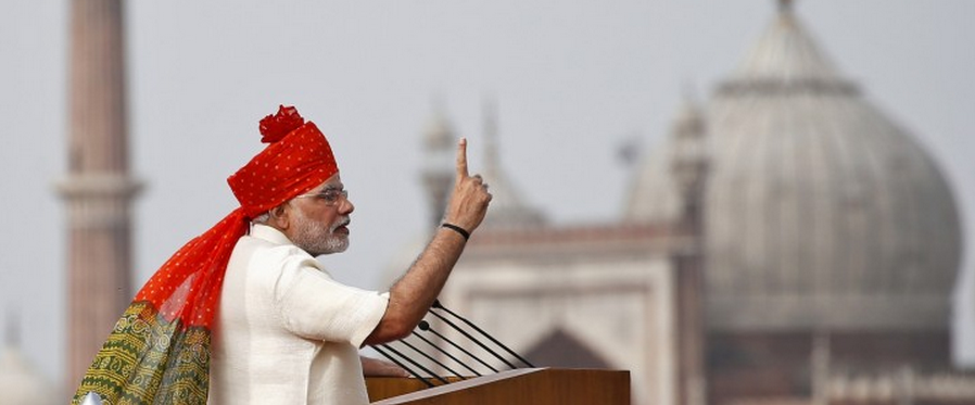 Headline for 10 top quotes of Prime Minister Narendra Modi's maiden Independence Day address to the nation