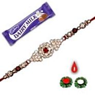 Send Rakhi to India online at very cheaper rates