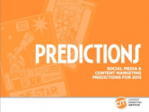 Social Media and Content Marketing | Predictions for 2013