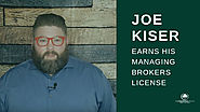 Joe Kiser Gets His Managing Brokers License [Video] » The Madrona Group
