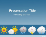 Weather Forecast PowerPoint Template | Free Powerpoint Templates