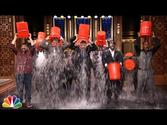 Rob Riggle, Horatio Sanz, Steve Higgins, The Roots, & Jimmy Take the ALS Ice Bucket Challenge