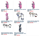 Buy Complete Girly Golf Set in York, SC