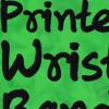 Printe wristband